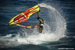 Lee Stone jet ski world champion turns a somersault